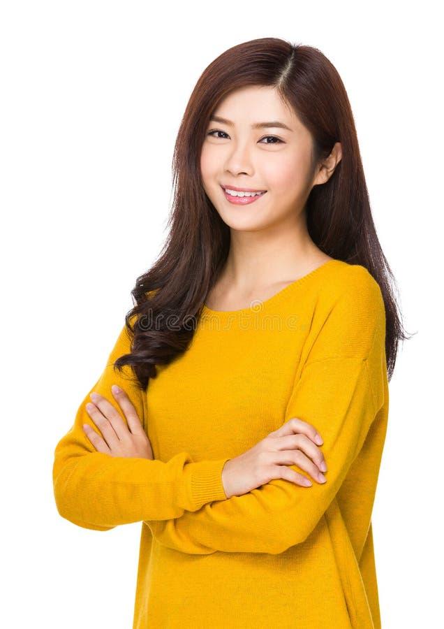 Retrato asiático da mulher fotos de stock royalty free