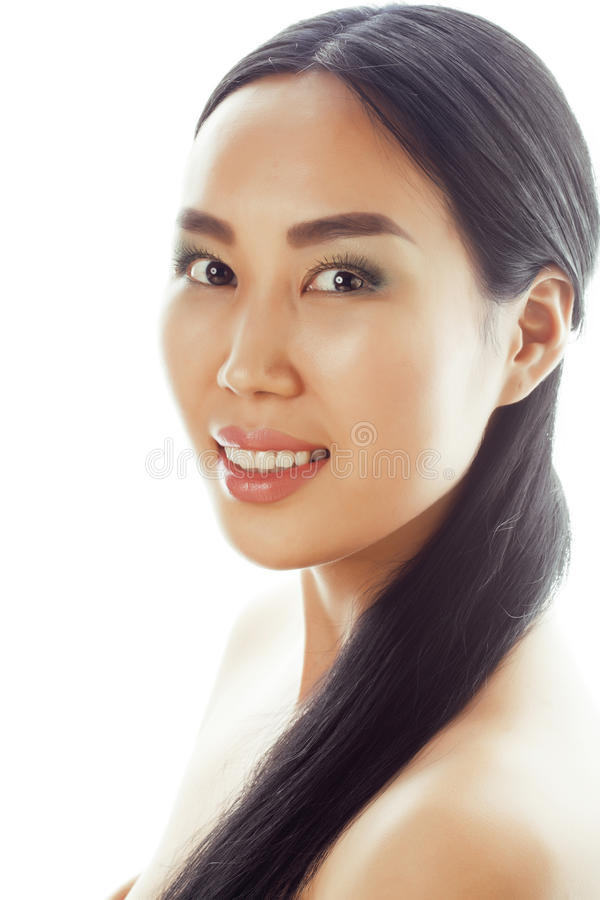Modelo de coche asiático femenino