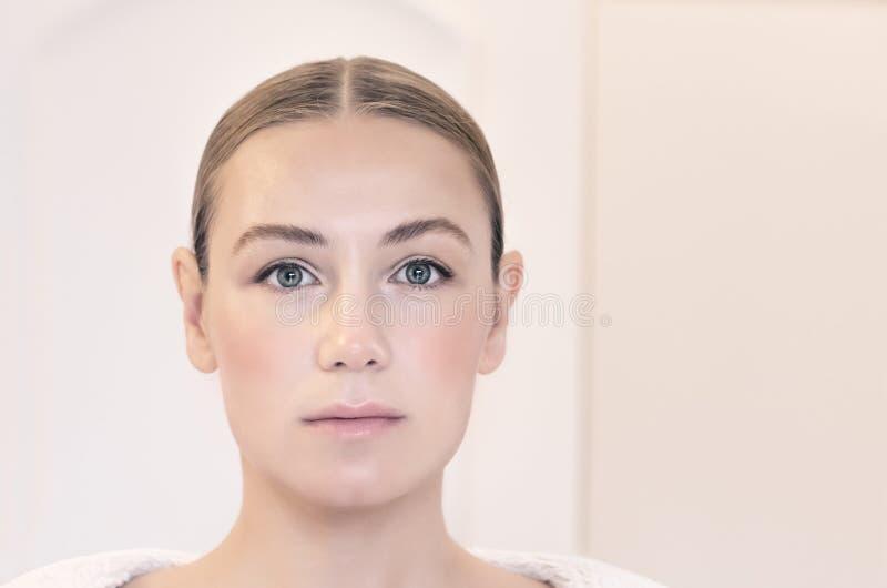 Retrato autêntico da mulher fotos de stock royalty free