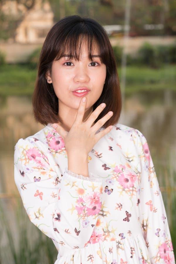 Retrato bonito da fôrma da rapariga imagens de stock royalty free