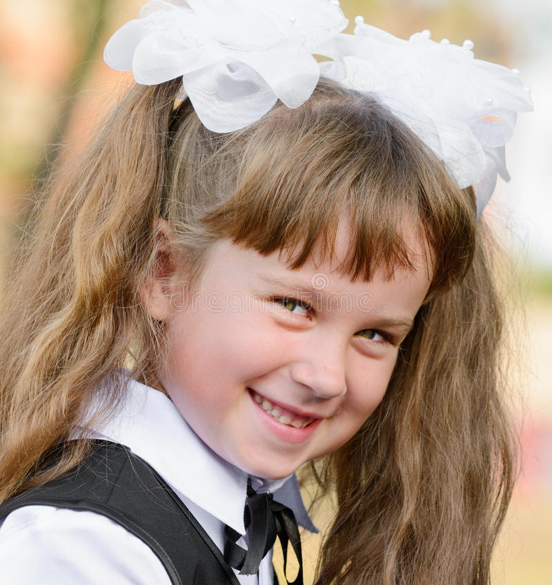 Retrato bonito da menina imagens de stock
