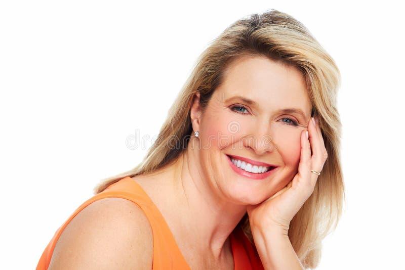 Retrato bonito da mulher. imagens de stock royalty free