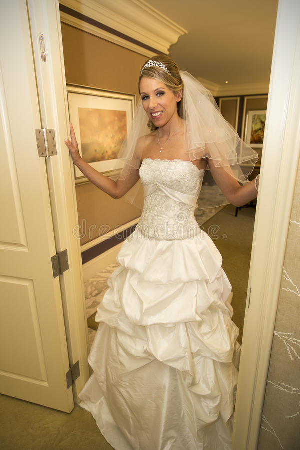 Retrato bonito da noiva imagens de stock royalty free