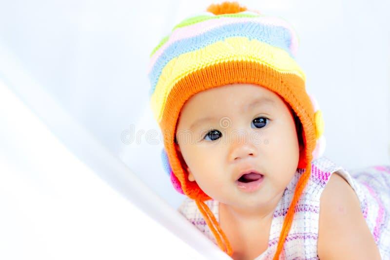 Retrato bonito do bebê do bebê imagens de stock royalty free