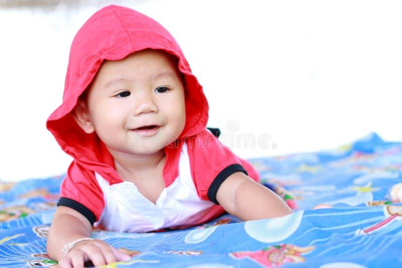 Retrato bonito do bebê do bebê foto de stock royalty free