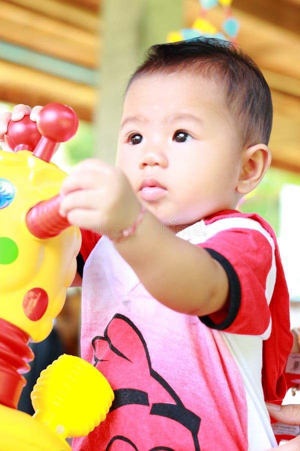 Retrato bonito do bebê do bebê imagens de stock