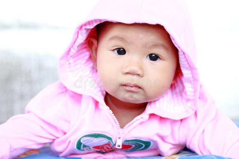 Retrato bonito do bebê do bebê imagem de stock