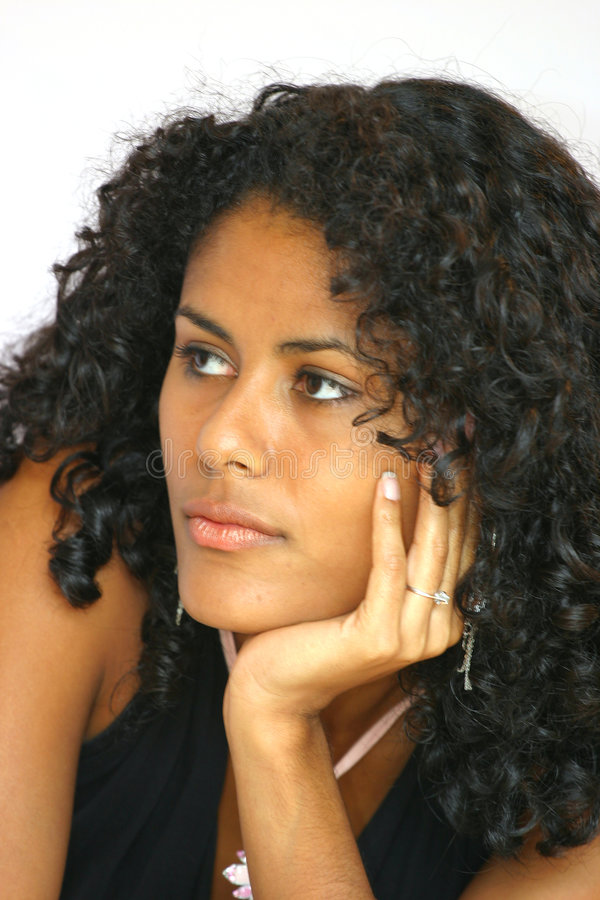 Retrato bonito do close up fotos de stock royalty free