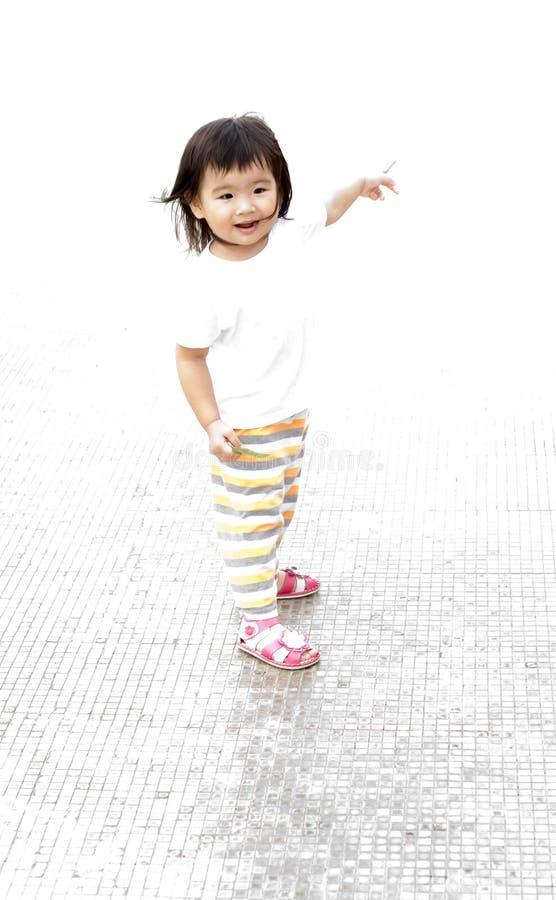 Retrato chave elevado do bebê imagens de stock royalty free