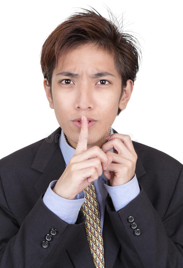 Retrato chinês da discreção fotos de stock