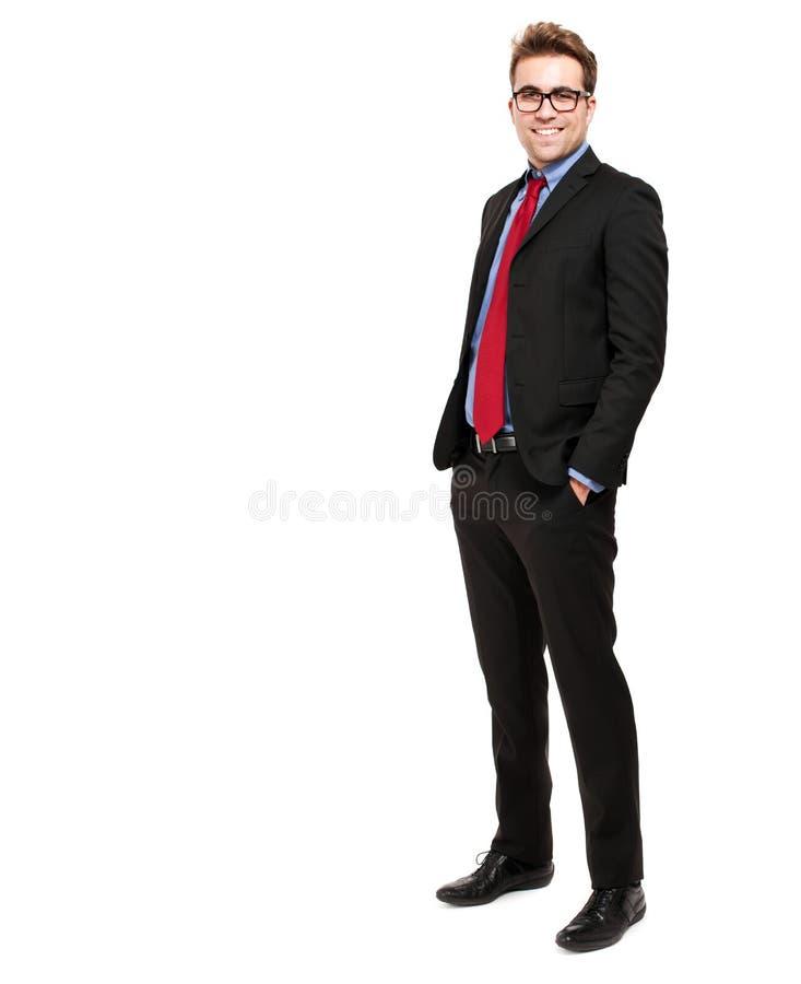 Download Comprimento Completo Do Homem De Negócios Foto de Stock - Imagem de incorporado, isolado: 29837980