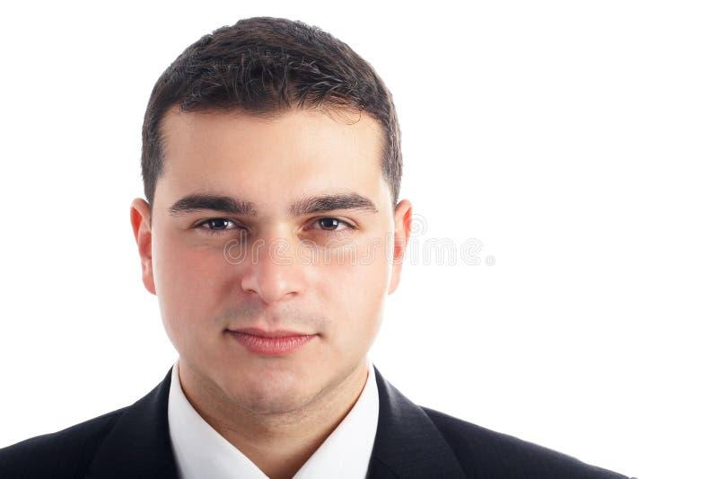 Retrato considerável do homem de negócios foto de stock