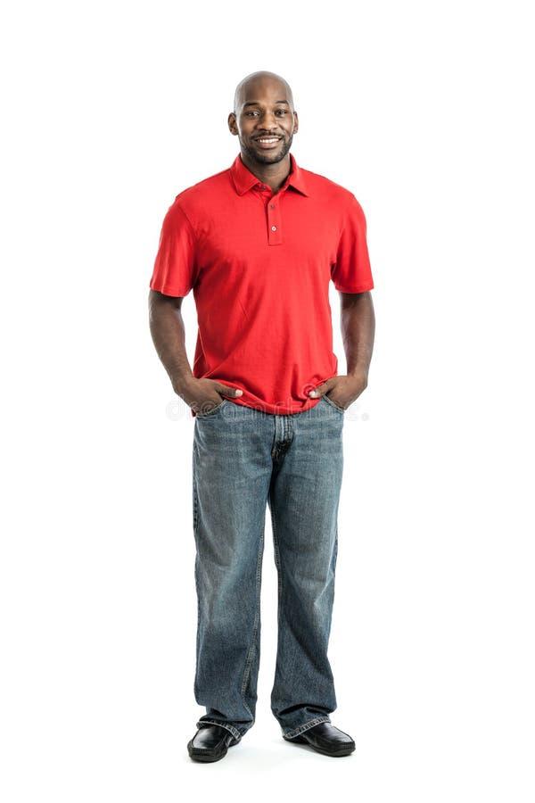 Retrato considerável do homem negro fotografia de stock royalty free