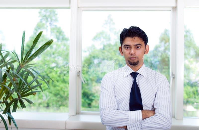 Retrato corporativo asiático del hombre fotografía de archivo libre de regalías
