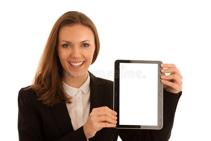 Retrato corporativo de la mujer de negocios caucásica hermosa joven s fotografía de archivo libre de regalías