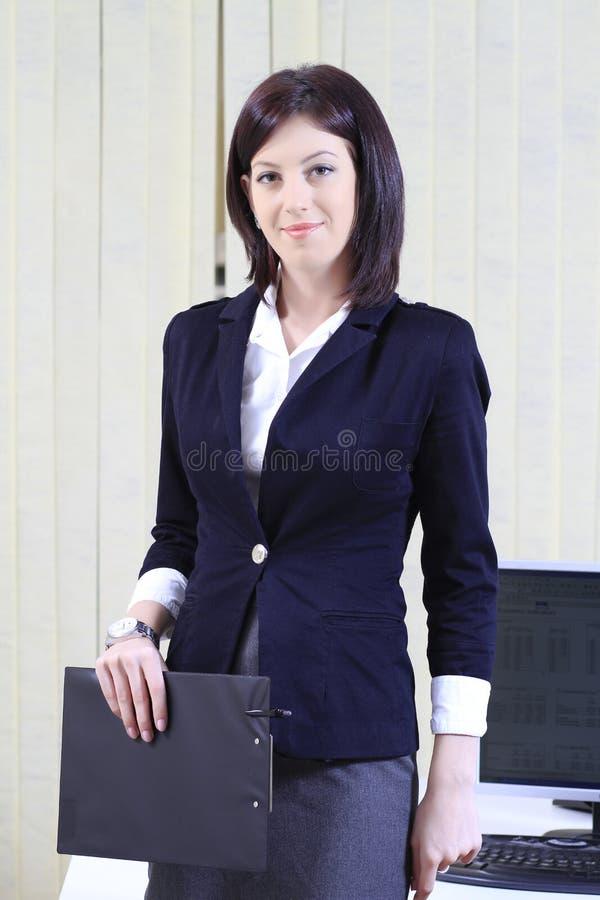Retrato corporativo de uma mulher de negócios fotografia de stock royalty free