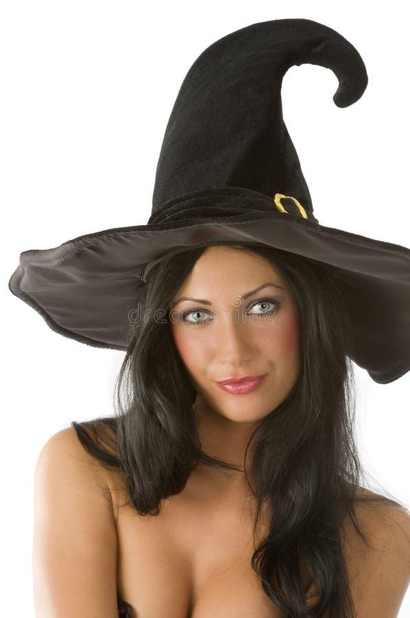 Retrato da bruxa imagem de stock royalty free