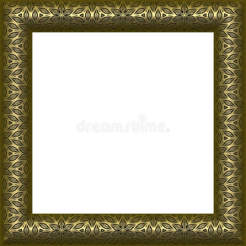 Retrato da concessão ou frame da foto ilustração do vetor