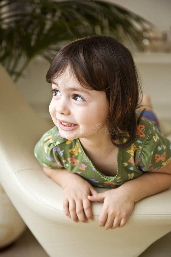 Retrato da criança foto de stock