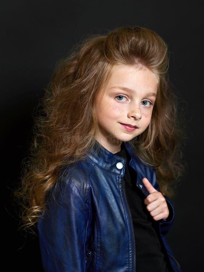 Retrato da criança bonita imagens de stock royalty free