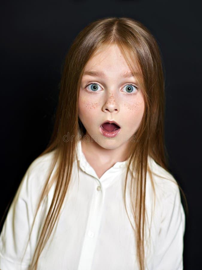 Retrato da criança bonita imagem de stock