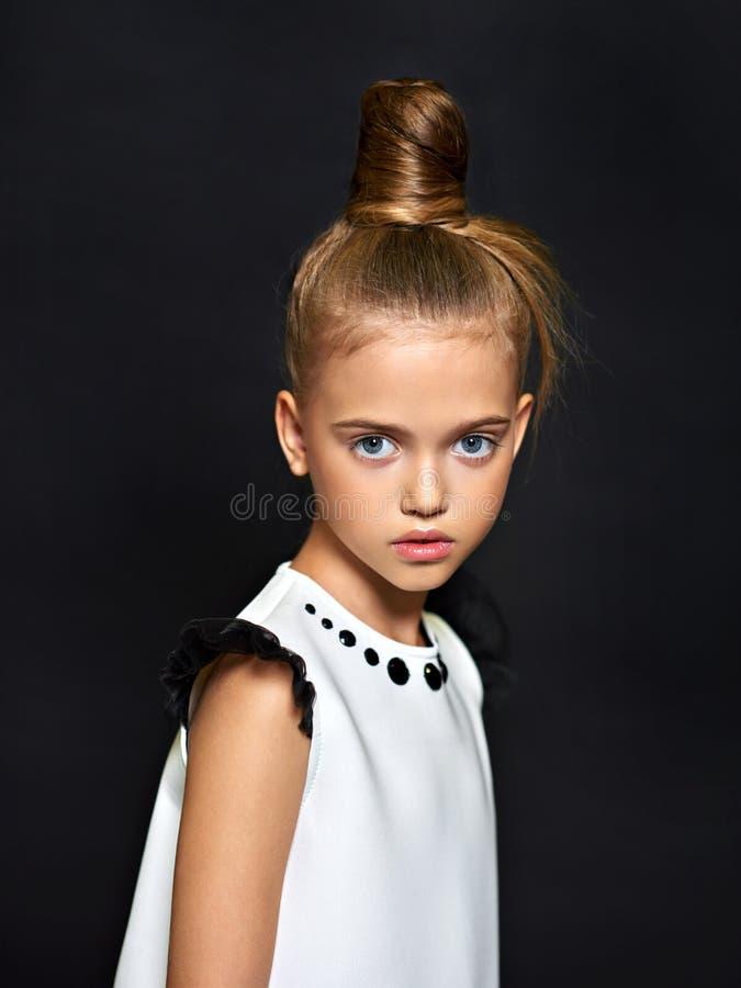 Retrato da criança bonita fotos de stock royalty free