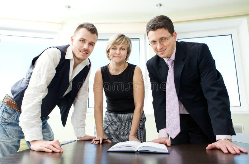 Retrato da equipe do negócio. fotografia de stock royalty free