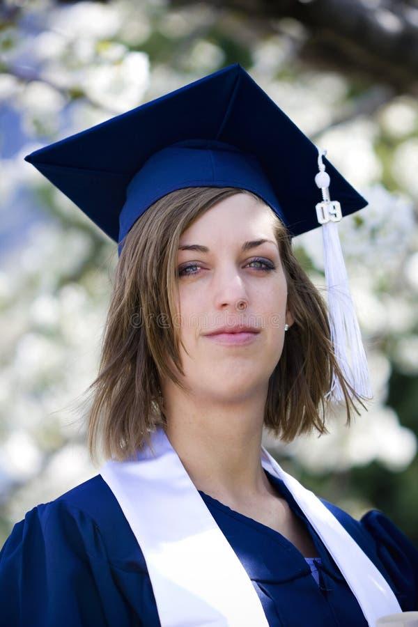 Retrato da graduação foto de stock royalty free