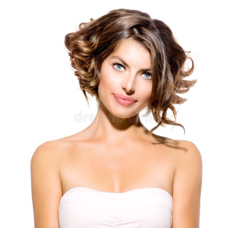 Retrato da jovem mulher da beleza imagem de stock royalty free