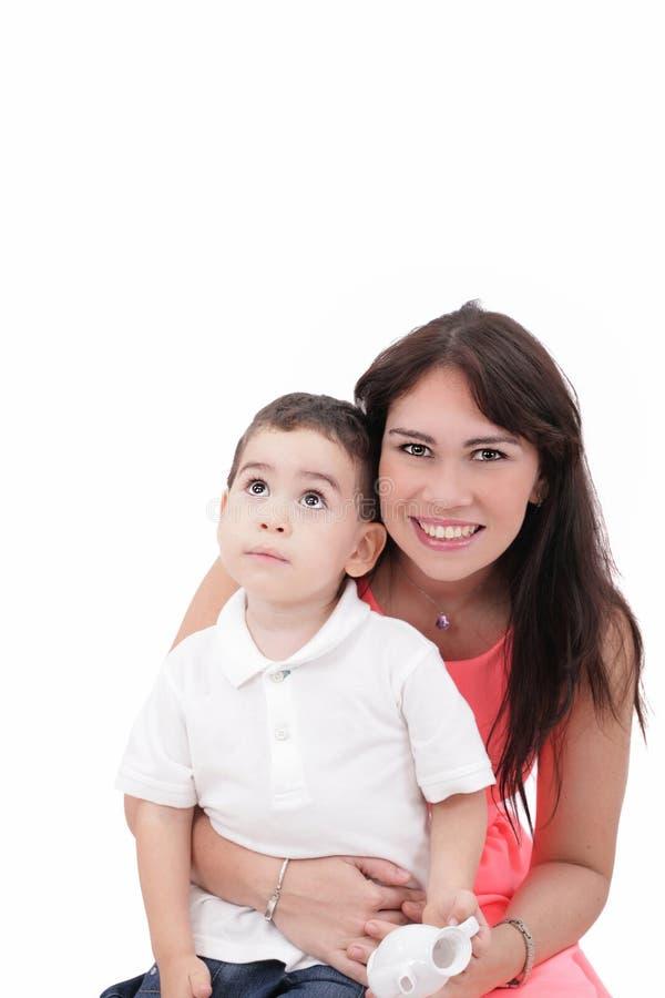 Mãe e criança fotos de stock