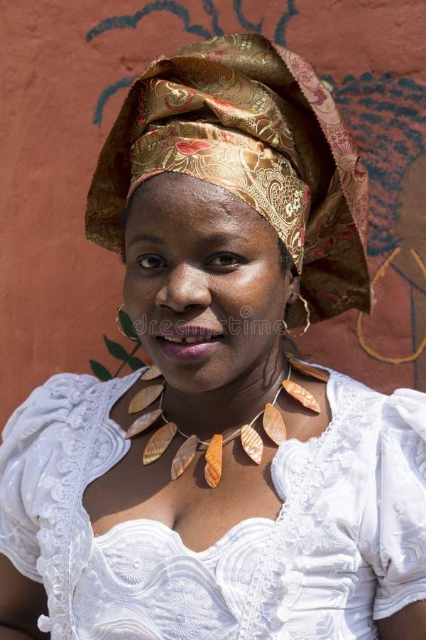 Retrato da menina africana fotos de stock