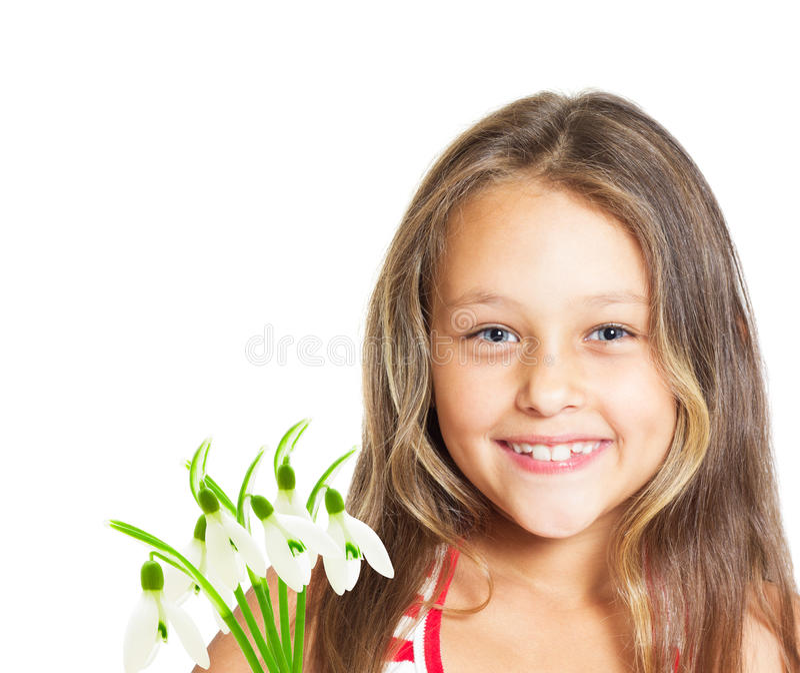 Retrato da menina bonito imagens de stock