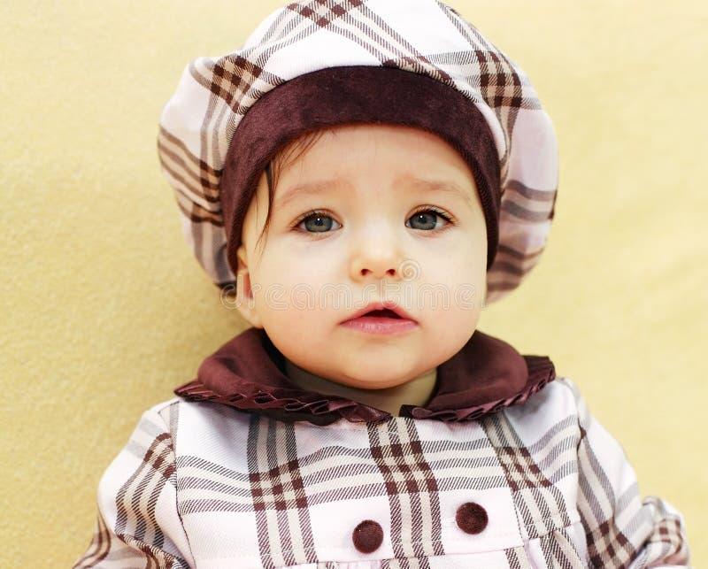 Retrato da menina bonito fotografia de stock royalty free