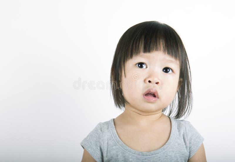 Retrato da menina bonito pequena imagens de stock royalty free