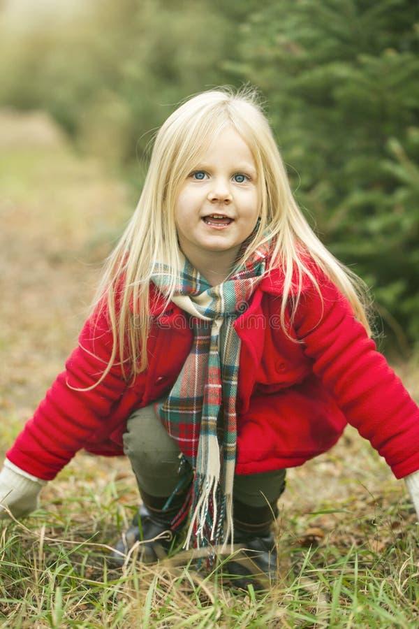 Retrato da menina brincalhão fotografia de stock royalty free