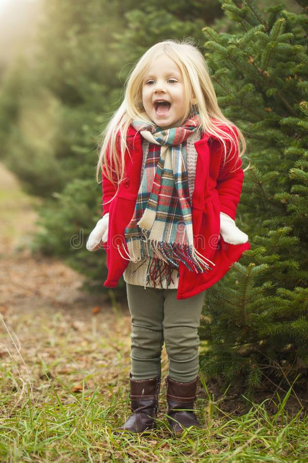 Retrato da menina brincalhão imagem de stock royalty free