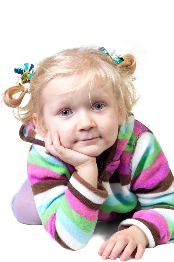 Retrato da menina da criança fotos de stock