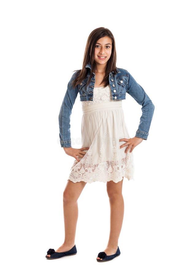 Retrato da menina do Preteen fotos de stock