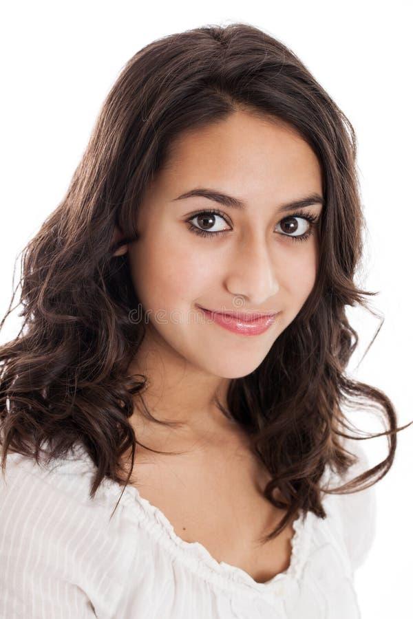 Retrato da menina do Tween imagens de stock