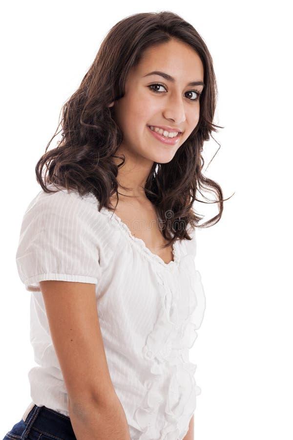 Retrato da menina do Tween imagem de stock royalty free
