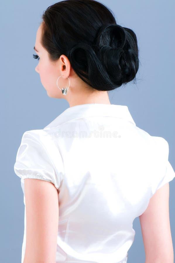 Download Retrato da mulher foto de stock. Imagem de bonito, mulher - 12811114