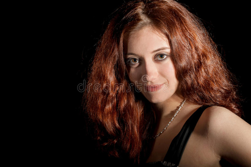 Retrato da mulher fotografia de stock