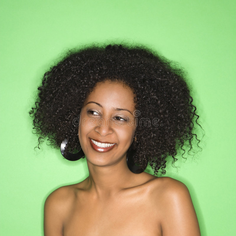 Retrato da mulher. foto de stock royalty free
