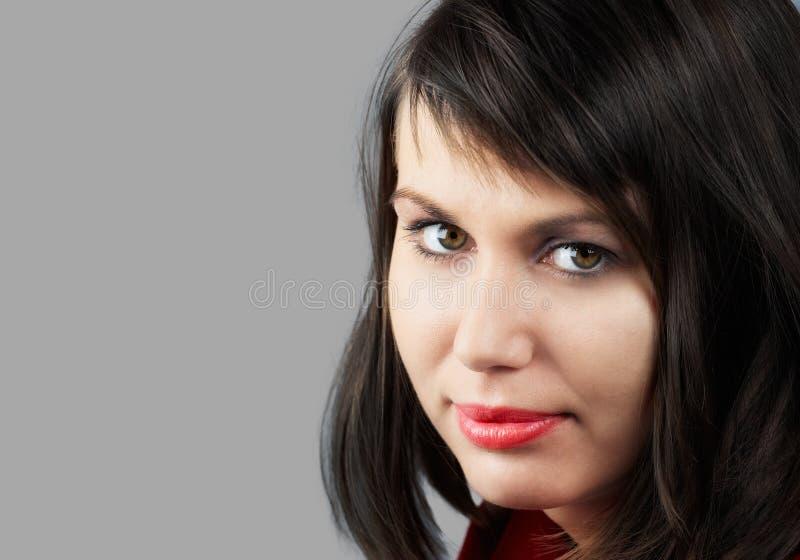 Retrato da mulher imagem de stock royalty free