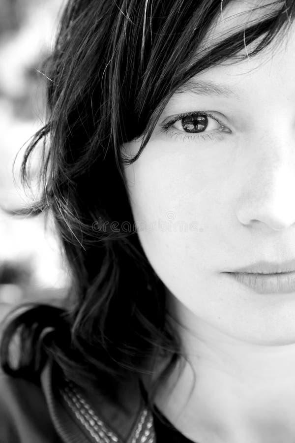 Retrato da mulher fotos de stock royalty free