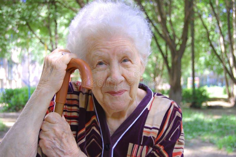 Retrato da mulher adulta foto de stock royalty free