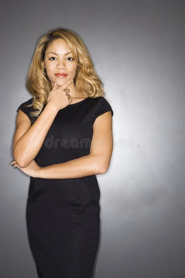 Retrato da mulher bonita. fotos de stock royalty free