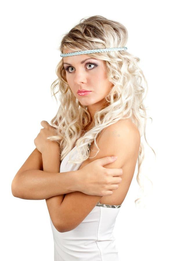 Download Retrato Da Mulher De Blondie Foto de Stock - Imagem de elegante, grande: 16852922