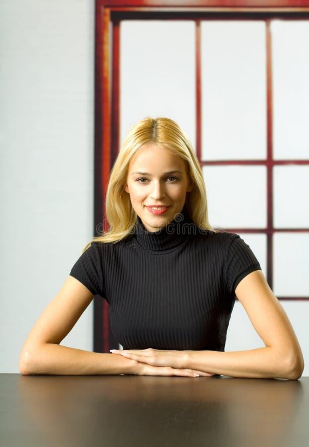 Retrato da mulher de negócio fotos de stock