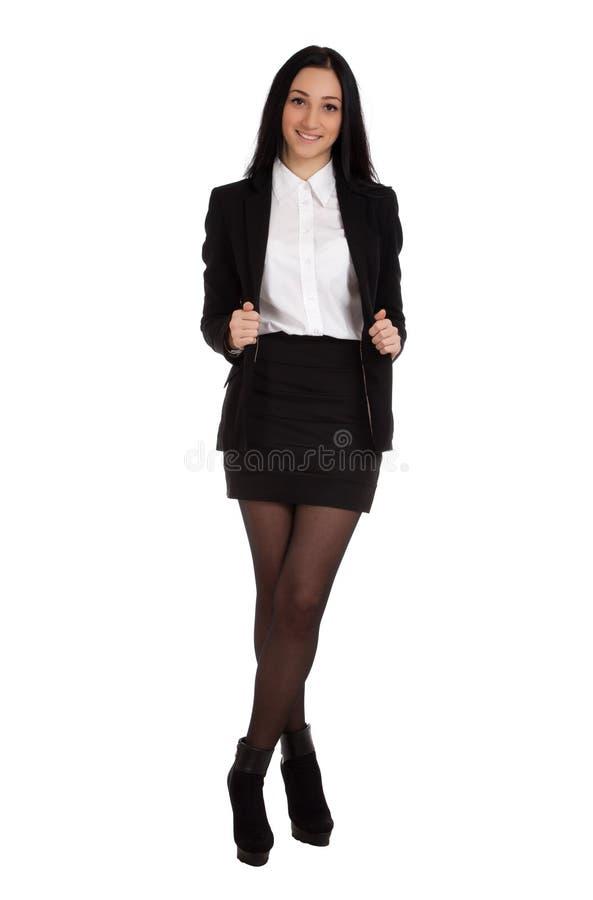 Retrato da mulher de negócio fotografia de stock
